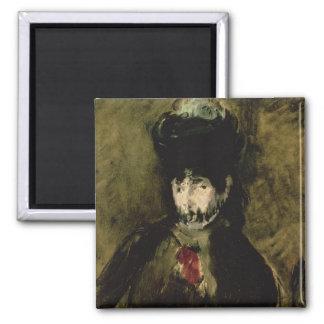 Aimant Manet | Berthe Morisot portant un voile, 1872