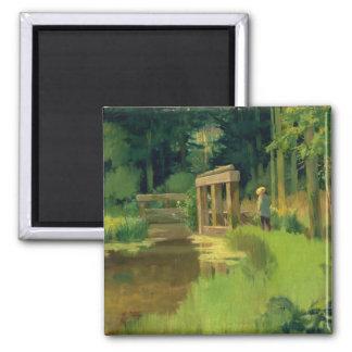 Aimant Manet | en parc