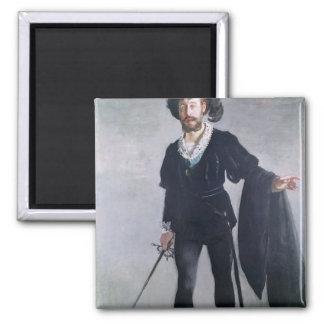 Aimant Manet | Jean Baptiste Faure comme Hamlet, 1877