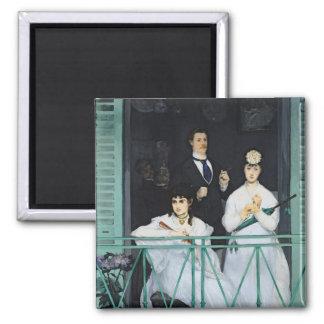 Aimant Manet | le balcon, 1868-9