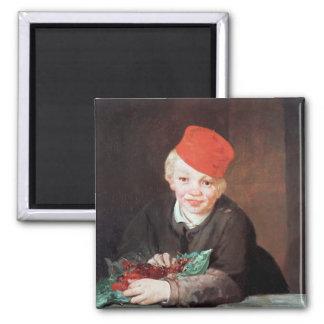 Aimant Manet | le garçon avec les cerises, 1859