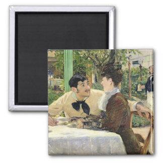 Aimant Manet | le jardin de Pere Lathuille, 1879