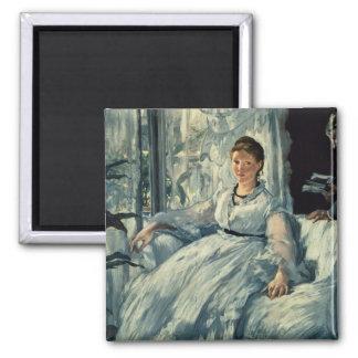 Aimant Manet | lisant, 1865