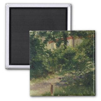 Aimant Manet | un coin du jardin en Rueil, 1882