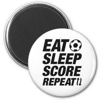 Aimant Mangez la répétition de score de sommeil