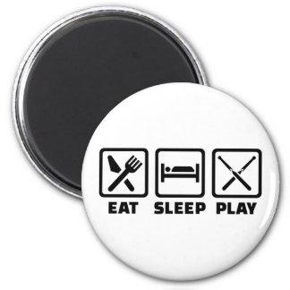Aimant Mangez le billard de sommeil