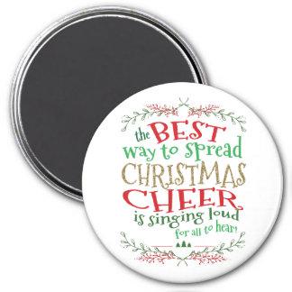 Aimant Manière d'aimant d'acclamation de Noël la