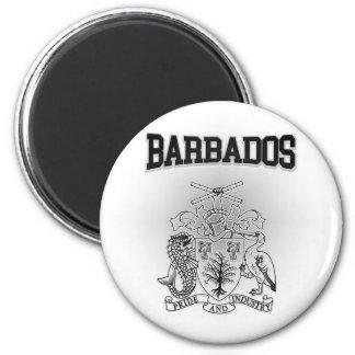 Aimant Manteau des Barbade des bras