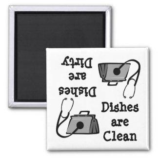 Aimant médical de lave-vaisselle de sac