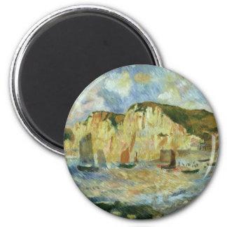 Aimant Mer et falaises par Pierre Renoir, beaux-arts