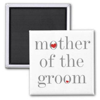 Aimant Mère grise des textes de marié