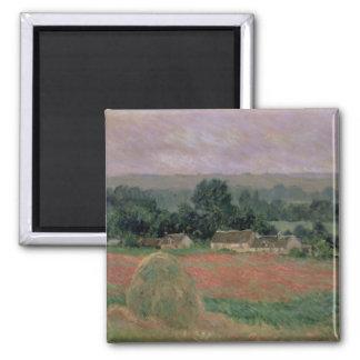 Aimant Meule de foin de Claude Monet   chez Giverny, 1886