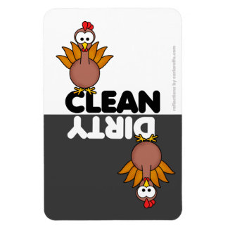 Aimant mignon de lave-vaisselle de poulet magnet