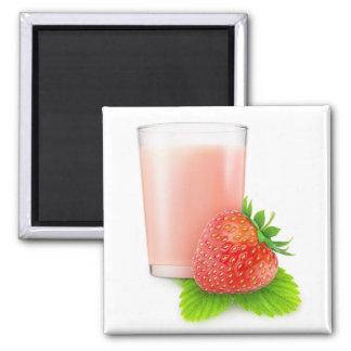 Aimant Milkshake de fraise