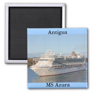 Aimant Milliseconde Azura bateau de croisière le plan