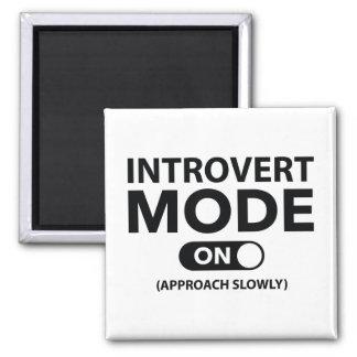 Aimant Mode introverti dessus