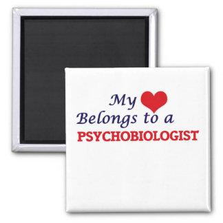 Aimant Mon coeur appartient à un Psychobiologist