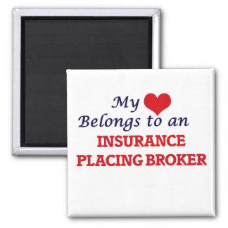Aimant Mon coeur appartient à une assurance plaçant le