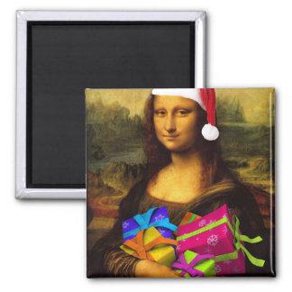 Aimant Mona Lisa vient comme père noël