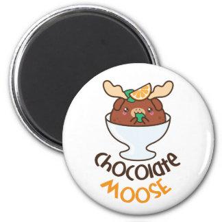 Aimant Mousse d'orignaux de chocolat