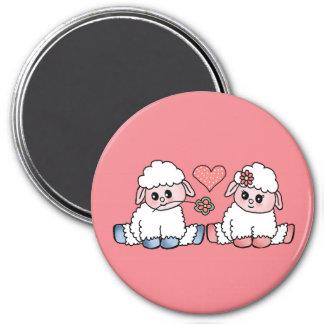 Aimant moutons de bébé