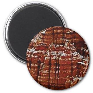 Aimant mur de roche de forme de forme d'érosion