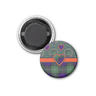 Aimant Murray de tartan écossais de kilt de plaid de clan