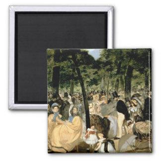 Aimant Musique de Manet | dans les jardins de Tuileries,