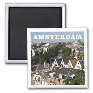 Aimant néerlandais de réfrigérateur de voyage d'Am
