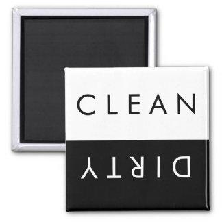 Aimant Nettoyez/aimant sale de lave-vaisselle dans