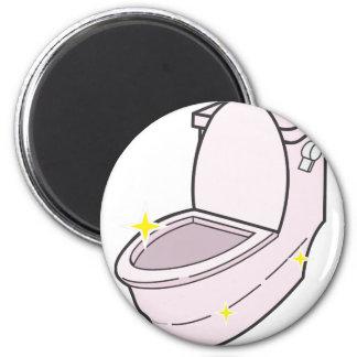Aimant Nettoyez la toilette
