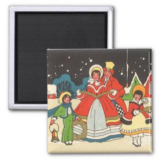 Aimant Noël vintage, hymnes de louange d'une musique de