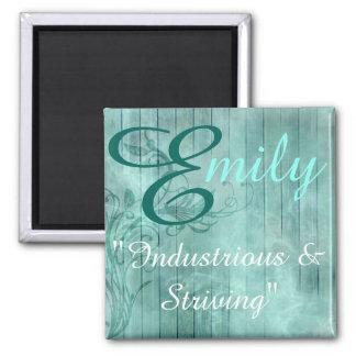 Aimant nommé de signification, Emily