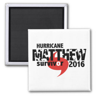 Aimant Ouragan Matthew survivant en octobre 2016