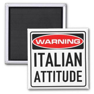 Aimant Panneau routier d'avertissement drôle d'attitude