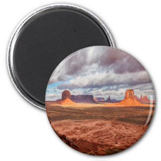 Aimant Paysage de vallée de monument, AZ