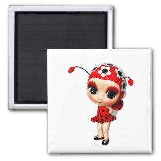 Aimant Petite Mlle Ladybug