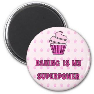 Aimant Petits gâteaux de rose de la superpuissance de