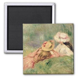 Aimant Pierre jeunes filles de Renoir un | sur la berge