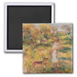 Aimant Pierre un paysage de Renoir | avec l'épouse de