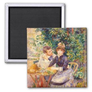 Aimant Pierre un Renoir | dans le jardin