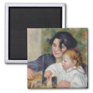 Aimant Pierre un Renoir | Gabrielle et Jean