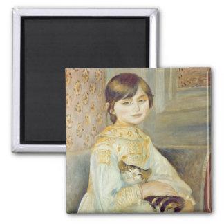 Aimant Pierre un Renoir | Julie Manet avec le chat