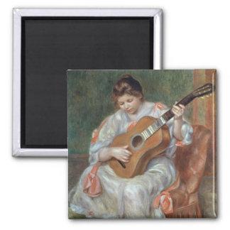 Aimant Pierre un Renoir | le joueur de guitare