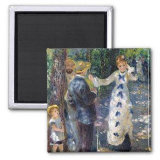 Aimant Pierre un Renoir | l'oscillation