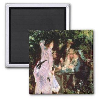 Aimant Pierre un Renoir | sous les arbres, de la Galette