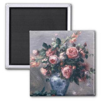 Aimant Pierre un vase à Renoir | de roses