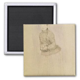 Aimant Pierre une femme de Renoir | avec un manchon