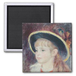 Aimant Pierre une jeune fille de Renoir | dans un