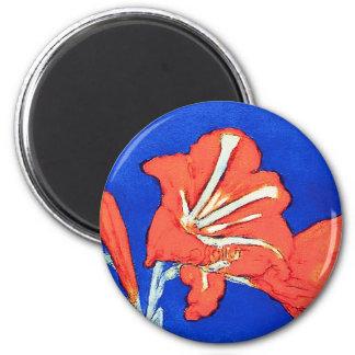 Aimant Piet Mondrian - peinture de fleur de beaux-arts